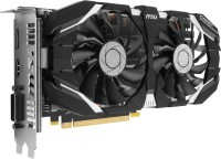Видеокарта NVIDIA GeForce GTX 1060 6Gb MSI <OCV1> GDDR5 192B DVI+HDMI+DP