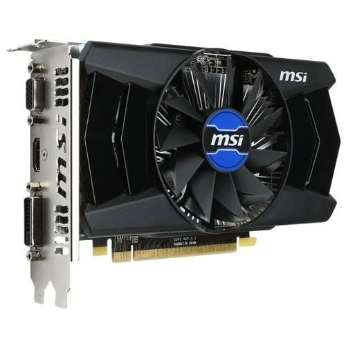 Видеокарта AMD Radeon R7 250 2Gb MSI GDDR3 128B D-Sub+DVI+HDMI (RTL)