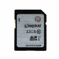 Флешка SDHC 32Gb Kingston Class10 <SD10VG2 / 32GB> с адаптером
