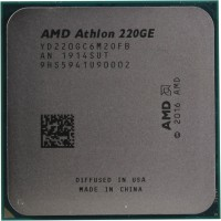 Процессор AMD Athlon 220GE AM4 (YD220GC6M2OFB) 3.4 GHz / 2core / 35W (OEM)