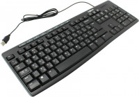 Клавиатура USB Logitech K200 Black