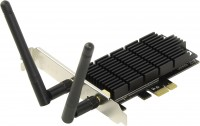 Адаптер Wi-Fi PCI-E TP-LINK Archer T6E 802.11ac / 867Mbps / 2.4GHz-5GHz / 1300Mbps / 20dbm