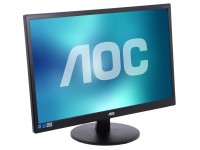 Монитор - 23.6 AOC M2470SWDA2 Black (16:9,1920x1080,5ms,250cd / m2,178° / 178°,DVI)