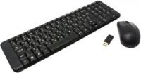 Комплект беспроводной Logitech MK220 Black (Кл-ра,FM,USB+Мышь,3кн,FM,USB,Roll)