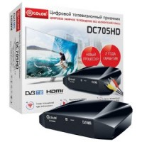 Цифровая приставка DVB-T2 D-COLOR DC705HD (RCA / HDMI / USB)