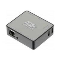 Маршрутизатор AgeStar WLB6 802.11n / 150Mbps / 2,4GHz / 1UTP-10 / 100 / 1000Mbps / 1WAN / 3USB / portable