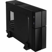 Корпус MicroATX без блока питания Aerocool Playa Slim Black