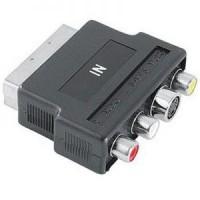 Переходник SCART-M -> 3RCA-F + S-Video Ningbo (JSP005)