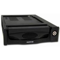 Корпус для HDD 3.5 в отсек 5.25 SATA AgeStar <MR3-SATA (k)-F> (встраеваемый в отсек для дисковода)