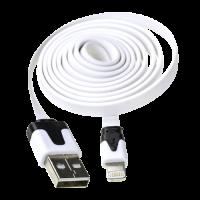 Кабель Apple 8-pin -> USB 1.2м (индикатор зарядки / плоский)
