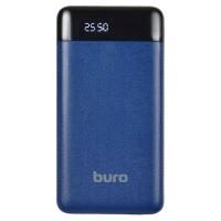 Внешний аккумулятор 21000 mAh Buro <RC-21000-DB> (2.1А, 2xUSB)