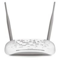 Модем ADSL TP-LINK TD-W8961N 802.11n / 300Mbps / 2,4GHz / 4UTP-10 / 100Mbps / 1RJ11 / 2x5dBi