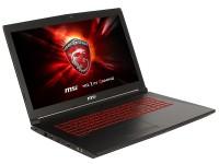 Ноутбук 17,3 MSI GL72M 7RDX-1486XRU intel i5-7300HQ / 8Gb / 1000Gb / GTX1050 2Gb / noODD / WiFi / DOS