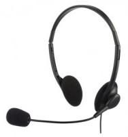 Полноразмерные наушники с микрофоном Oklick HS-M143VB (50Гц–15кГц / 1.5м / 2x-jack3.5)