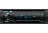 Автомагнитола Kenwood KMM-BT304 (1DIN / 4x50 Вт / Bluetooth / USB / AUX / 3RCA)