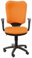 Кресло Бюрократ CH-540 AXSN-LOW / 26-291 (низкая спинка, оранжевое)